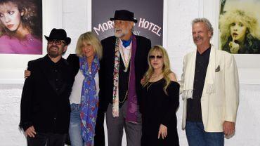 Dave Stewart, Christine McVie, Mick Fleetwood, Stevie Nicks et Peter Blachley