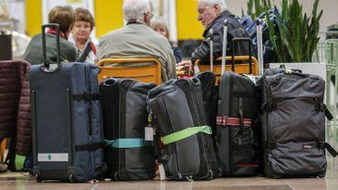 Grève chez Aviapartner: des valises attendent encore leurs propriétaires à Brussels Airport
