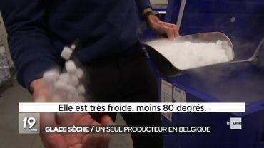 À Gand, l'unique producteur de glace sèche belge voit ses demandes exploser