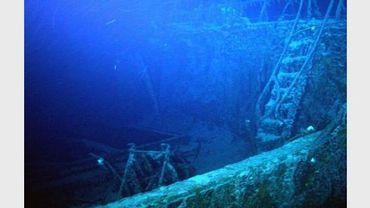 L'épave du Gairsoppa le 15 septembre 2011 à 4.700 mètres de fond au large de l'Irlande
