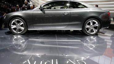 Audi rappelle 6821 voitures en Belgique pour risque d'incendie