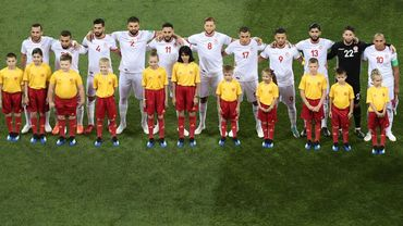 La formation tunisienne contre l'Angleterre