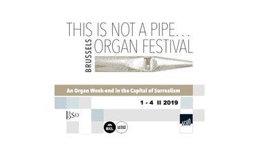 2e édition pour le festival d'orgue bruxellois début février 2019