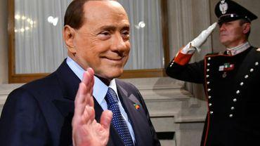Silvio Berlusconi le 4 décembre 2016 à Rome