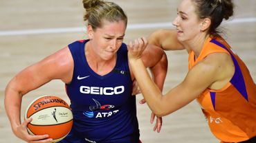 Emma Meesseman et Washington éliminés sur le fil par Phoenix en WNBA
