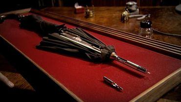 """Le """"parapluie bulgare"""", une arme ingénieuse et discrète !"""