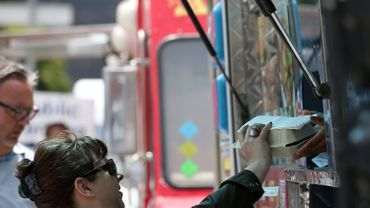 Le Brussels Food Truck festival attend 70 000 gourmands