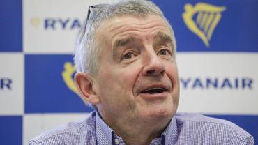 """Michael O'Leary: """"Une grève en Belgique ? Votre pays est petit pour Ryanair"""""""