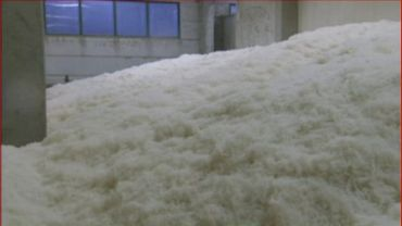 Une couette 100% laine