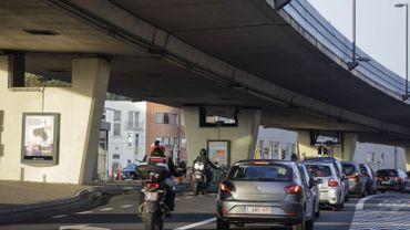 """Avant de rouvrir le viaduc, un """"test de charge"""" de 32 tonnes a été effectué sur la partie """"sensible"""""""