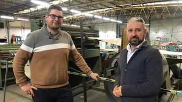 Stéphane et Jérôme ont repris six entreprises. Ils sont désormais à la tête d'un groupe qui emploi une septantaine de personnes.