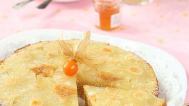 Recette de Candice: Tarte à l'ananas et à la noix de coco express