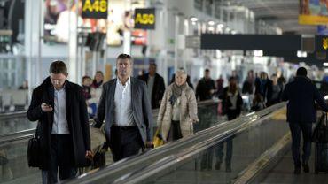 Appel à un débrayage massif les 8 et 15 décembre à Brussels Airport