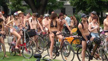 Participants à la Cyclonudista
