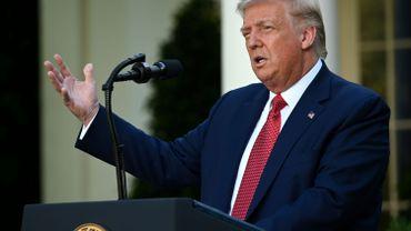 Au cours d'une conférence de presse sur la Chine, Donald Trump s'est servi de la tribune pour s'en prendre à son adversaire Joe Biden.