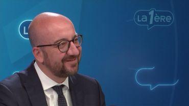 """Charles Michel répond aux auditeurs: """"Il faut protéger les frontières européennes"""""""