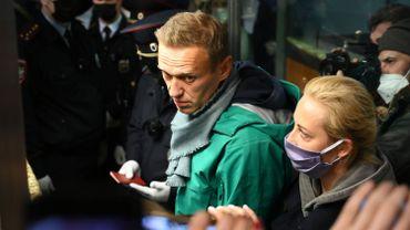 L'opposant Alexeï Navalny a atterri à Moscou et a été interpellé par la police