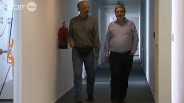 Pavel Baudys (g) et Eduard Kucera (dr), les fondateurs d'Avast à la tête d'un mini-empire qui réalise 100 millions d'euros de chiffre d'affaires.