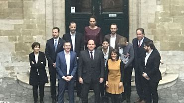 Le nouveau collège communal de la ville de Bruxelles