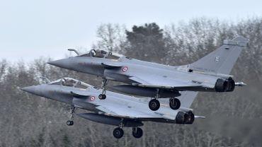 L'avion français Rafale