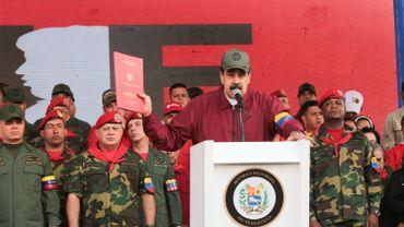 """""""Bolsonaro est en train d'entraîner les forces armées brésiliennes vers un conflit armé avec le Venezuela"""", a déclaré Nicolas Maduro."""