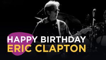 Eric Clapton à l'honneur sur Classic 21