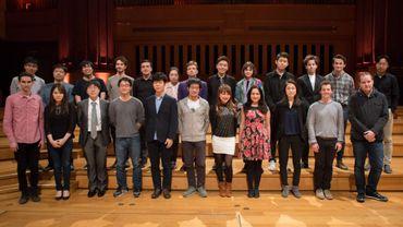 Les 24 demi-finalistes de l'édition 2016 du Concours Reine Elisabeth