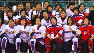 Les hockeyeuses coréennes en avril 2017