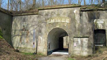 L'entrée du fort d'Emines