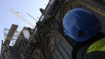 Liège: la Cathédrale Saint-Paul fait peau neuve