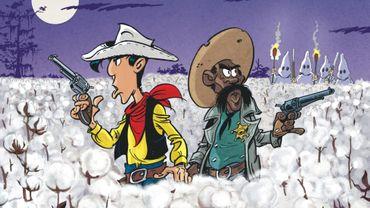 """""""Un cow-boy dans le coton"""" est le troisième épisode de Lucky Luke signé du scénariste Jul et du dessinateur Achdé."""