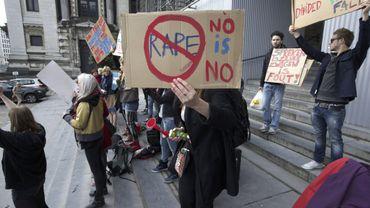 Illustration: une manifestation contre le viol