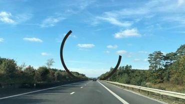 E411 - Lavaux-Saint-Anne : une voie de circulation en moins dans chaque sens pour les travaux de placement de l'Arc Majeur