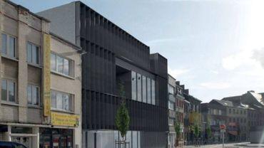 Le complexe Médiasambre à Charleroi: une architecture contemporaine adaptée aux activités