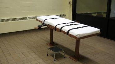 Photo d'une salle d'exécution dans la prison de Lucasville, dans l'Ohio