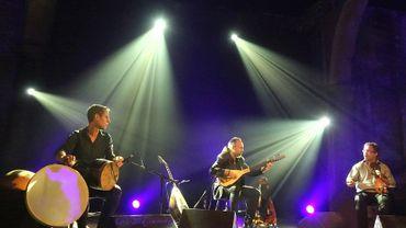 Trio Petrakis / López / Chemirani au Festival d'Art de Huy