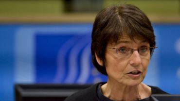 La commissaire européenne pour l'emploi, les affaires sociales, les compétences et la mobilité des travailleurs, Marianne Thyssen, ici le 19 octobre 2015.