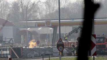 L'incendie de Wetteren