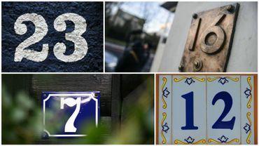 Recensement de tous les numéros d'habitation à Herve et dans La Province de Liège