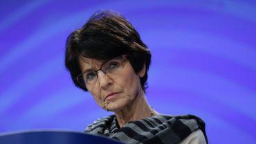 La commissaire européenne à l'Emploi et aux Affaires sociales, Marianne Thyssen.