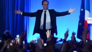 François Hollande, le 6 mai 2012 à Tulle