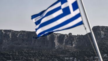 La Protection civile a appelé les Grecs à ne pas sortir de chez eux pendant la tempête.