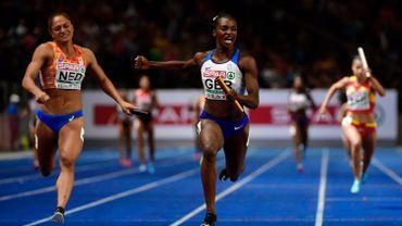 La Grande-Bretagne sacrée en 4X100m, Asher-Smith complète son triplé doré
