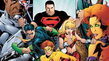 """Les """"Teen Titans"""" sont apparus pour la première fois en 1964 dans le numéro 54 de """"The Brave and the Bold"""""""
