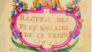 """Un """"Livre d'Amour"""" datant de 1620"""