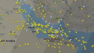 Drone abattu par l'Iran : de nombreuses compagnies aériennes évitent la zone