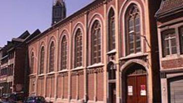 Le couvent de la rue Hors Château a été acquis par la Haute Ecole Libre Mosane.