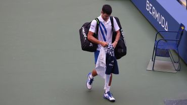 Novak Djokovic, arrivé à Rome pour disputer le Masters 1000, a confié lundi sa hâte de retrouver les courts après sa disqualification spectaculaire à l'US Open pour avoir involontairement lancé une balle sur une juge de ligne.