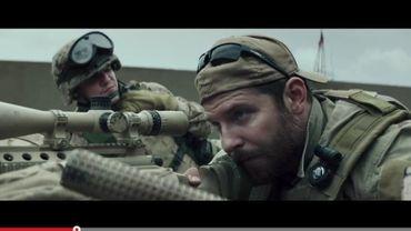 """""""American Sniper"""" est adapté de l'autobiographie du soldat Chris Kyle, campé par Bradley Cooper à l'écran"""