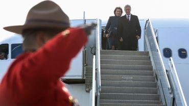 Le couple royal vient d'arriver au Canada